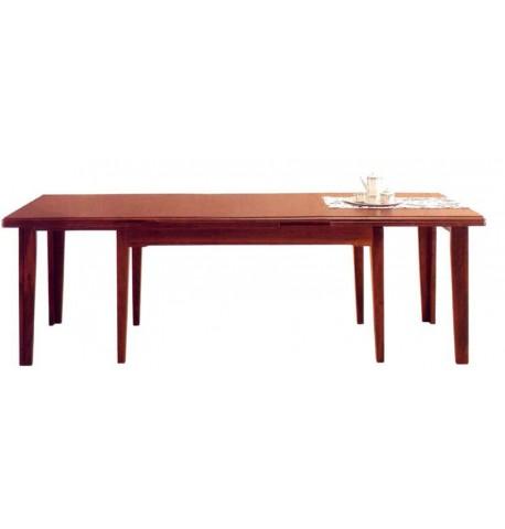Tavolo allungabile otto gambe